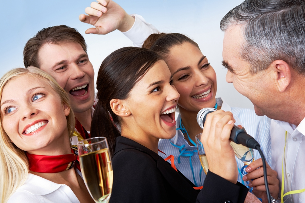 Karaoke with Companies