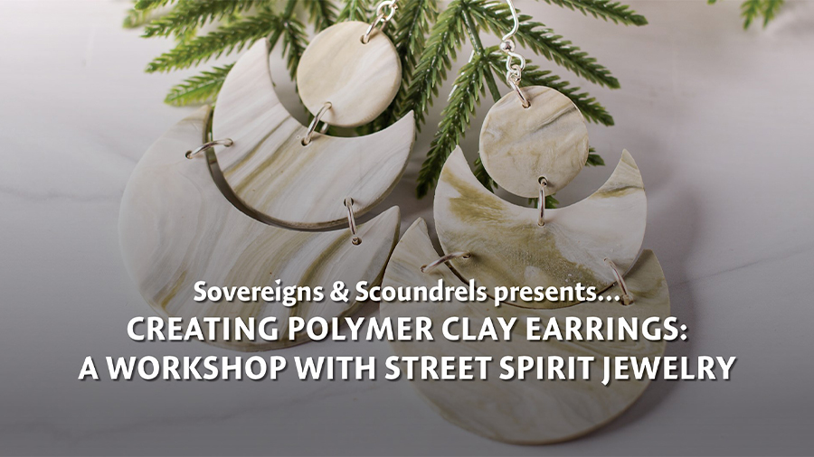 Creating Polymer Clay Earrings: A Workshop with Street Spirit Jewelry